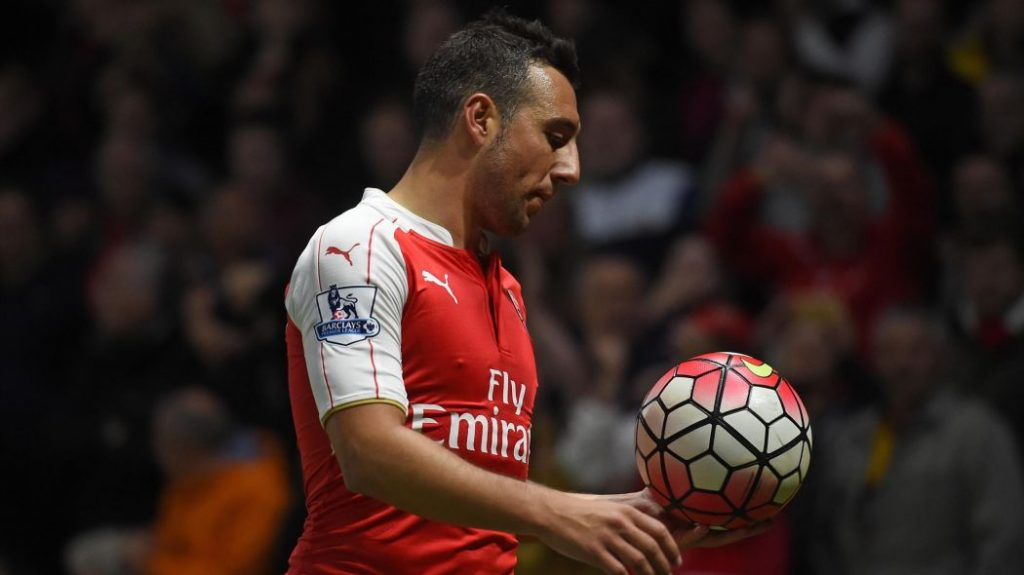 Santi Cazorla injury