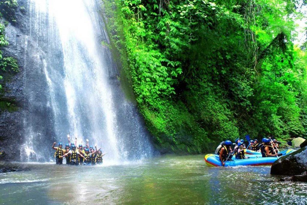 Rafting di Bali Ubud Sungai Ayung